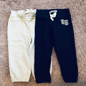 Oshkosh sweatpants set Navy and Gray 18mo